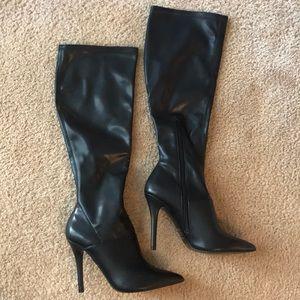 Aldo Faux Leather Boots
